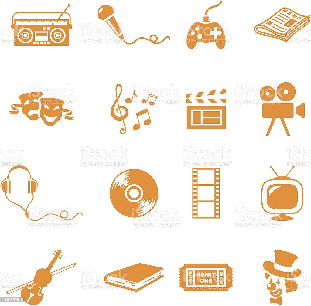 Entertainment - incl. jpeg vector art illustration
