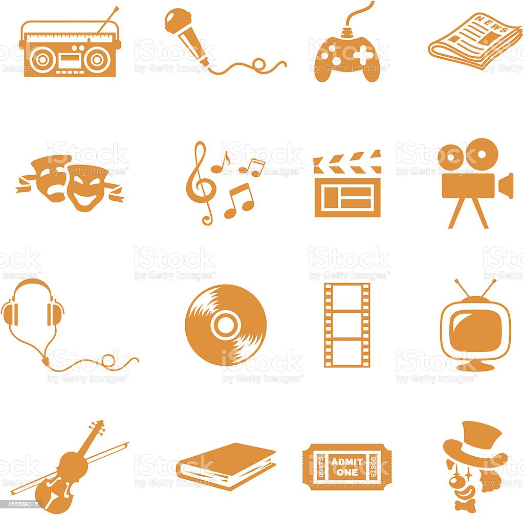 Entertainment - incl. jpeg vector art illustration