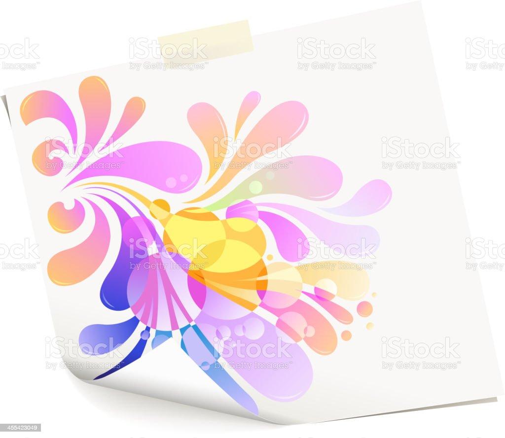entertainment paper royalty-free stock vector art