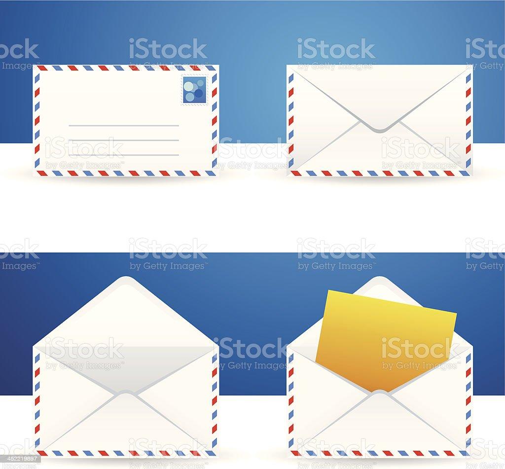 envelope icon royalty-free stock vector art
