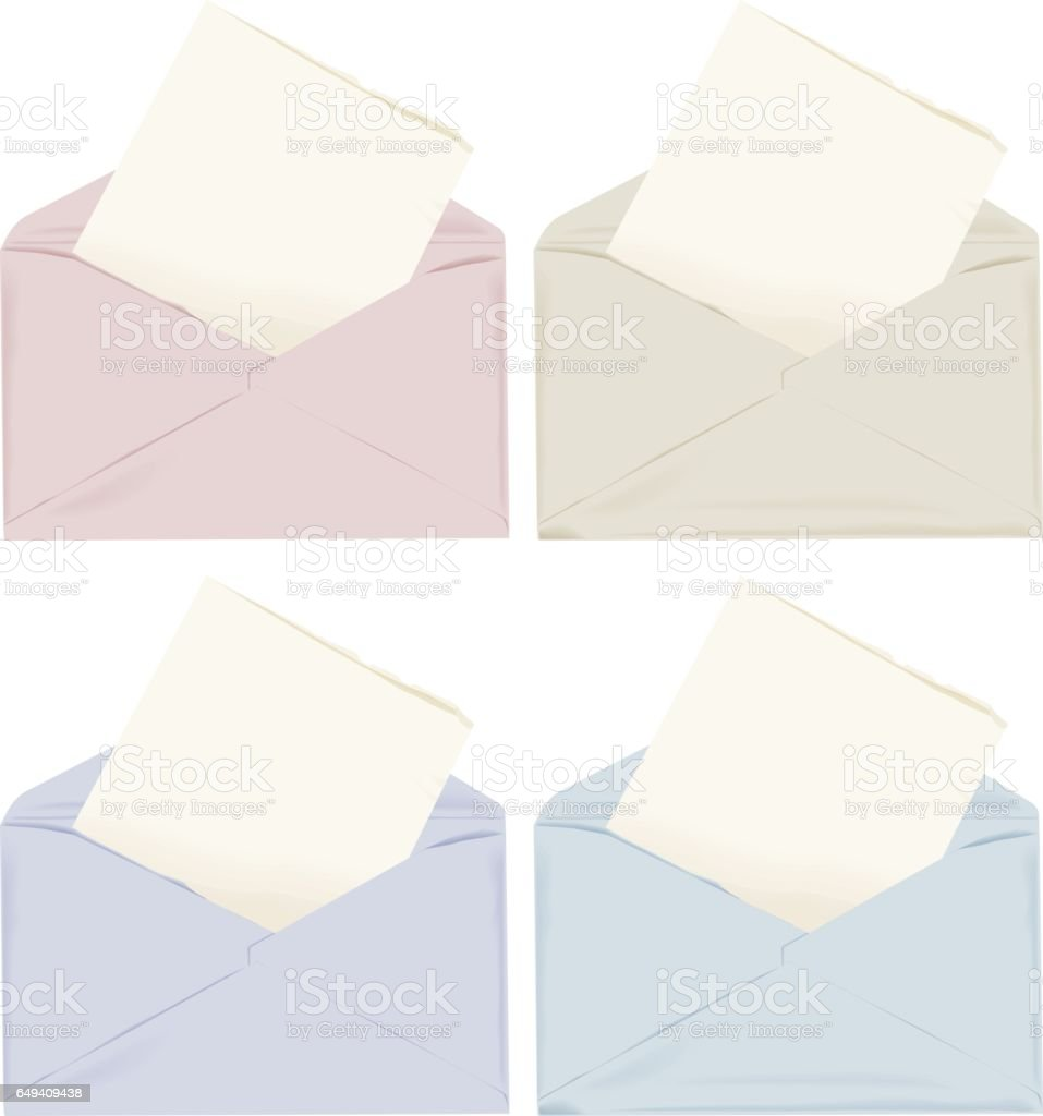 Envelope vector art illustration