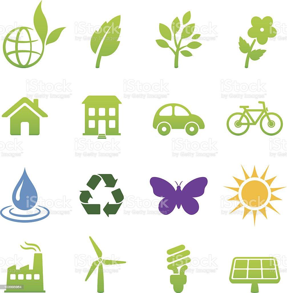 environment design elements royalty-free stock vector art