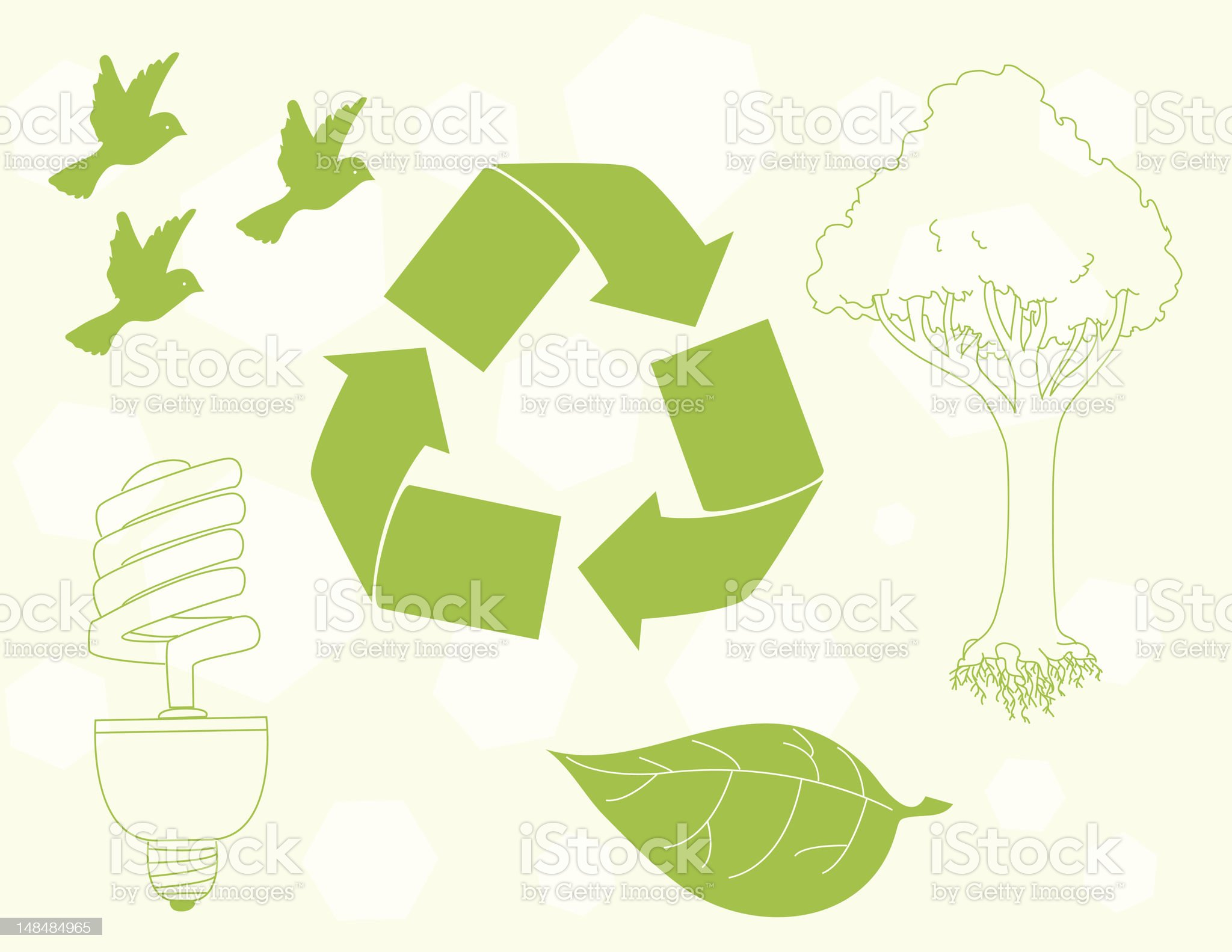 Environment Icons royalty-free stock vector art