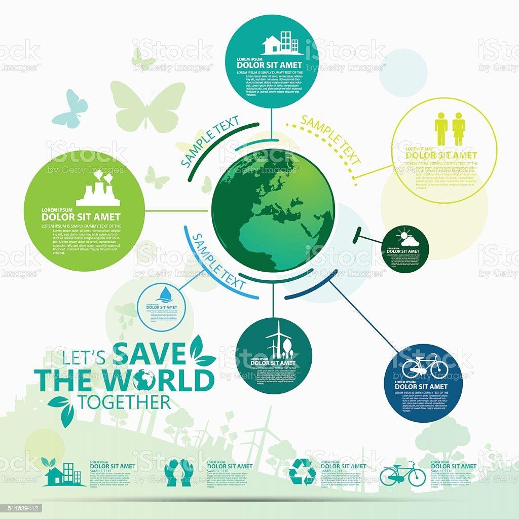 Umwelt – Vektorgrafik