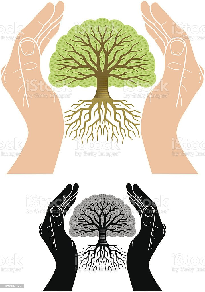 Environmental care vector art illustration