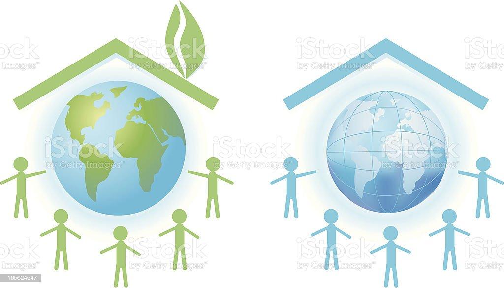 Environmental concept royalty-free stock vector art