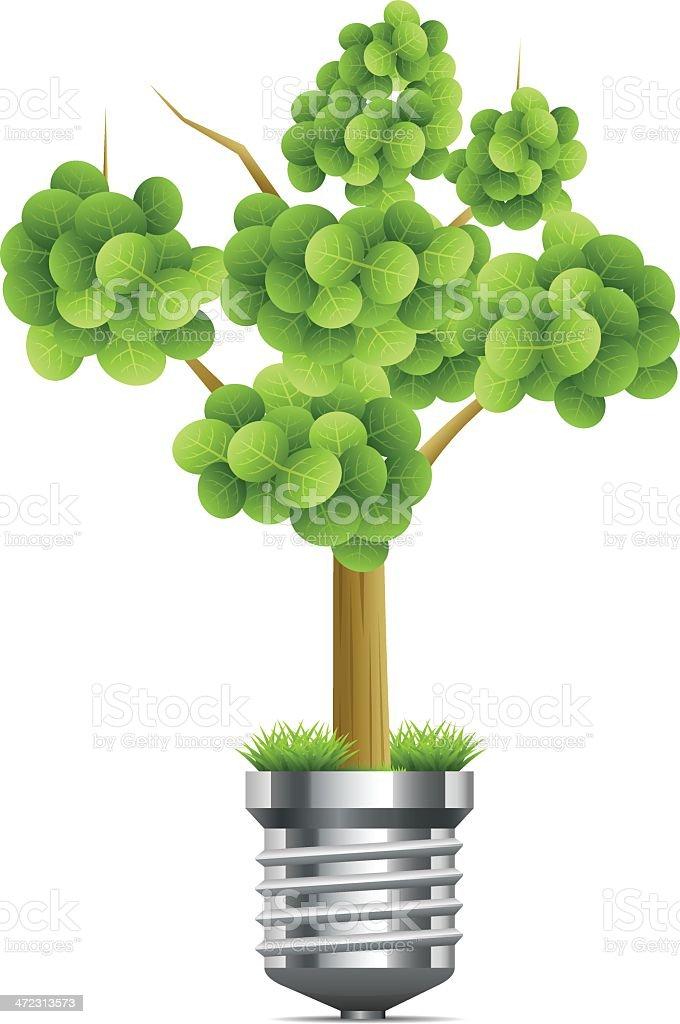 Environmental Ideas royalty-free stock vector art