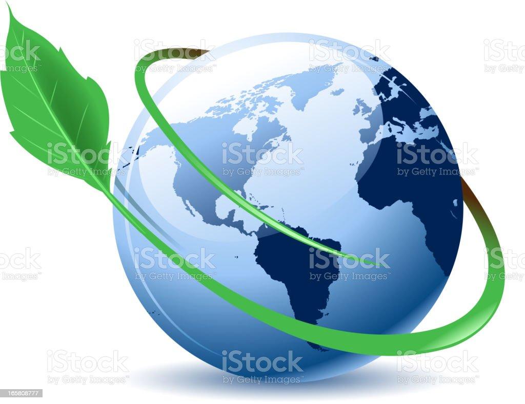 environmental symbol vector art illustration