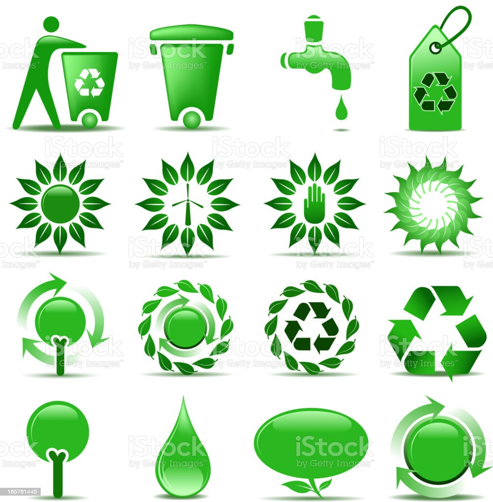 environmentalist symbols royalty-free stock vector art