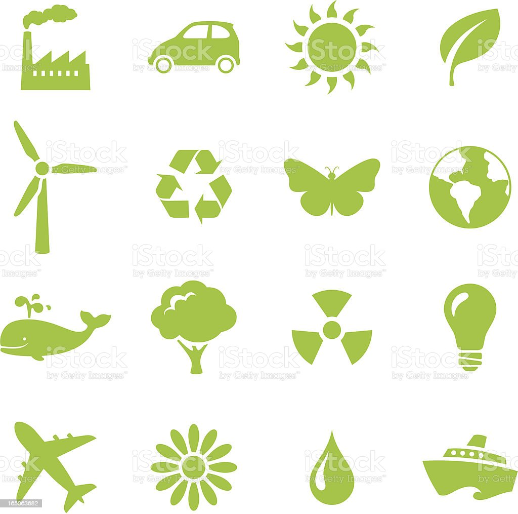 Environmentally Friendly - incl. jpeg vector art illustration