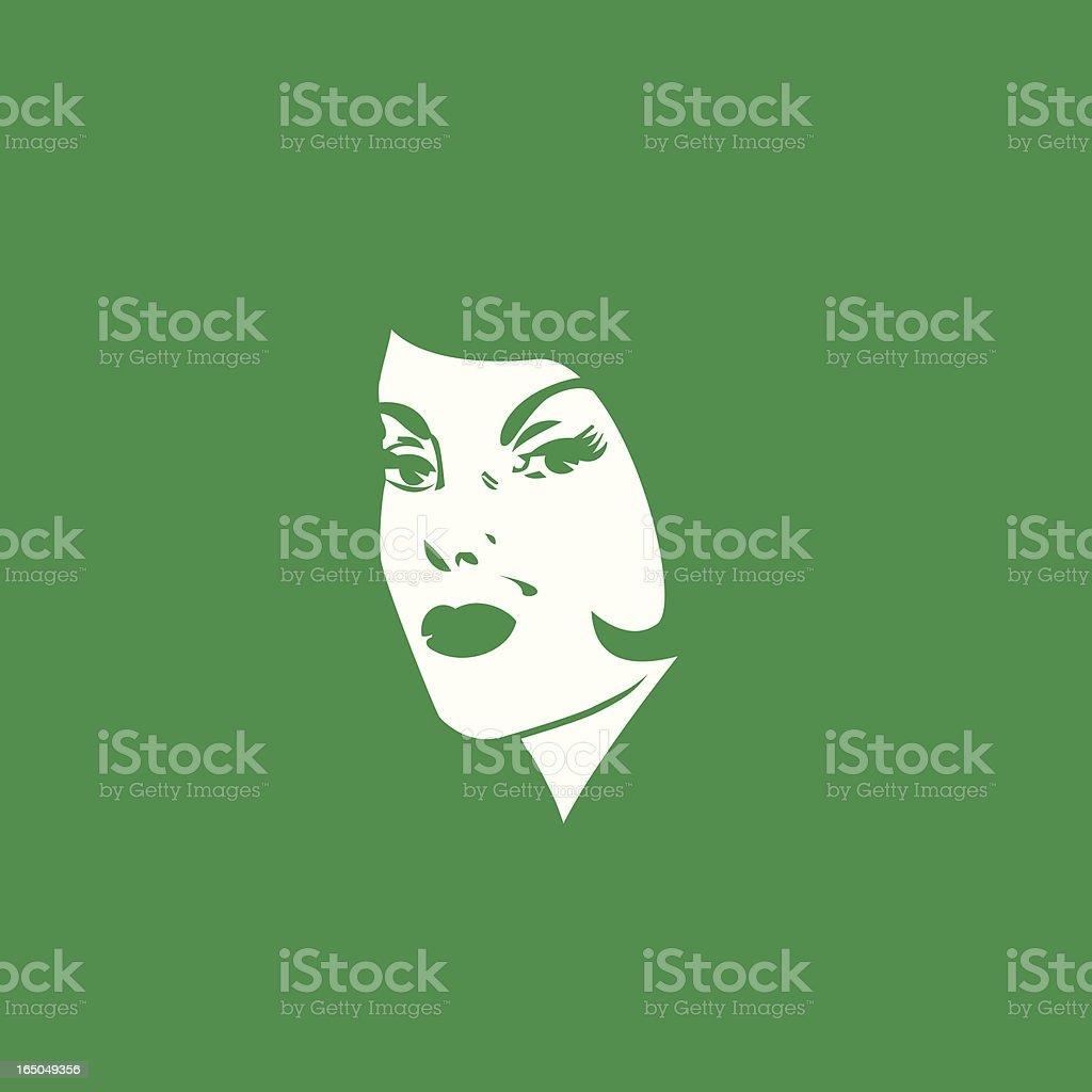 Envy vector art illustration