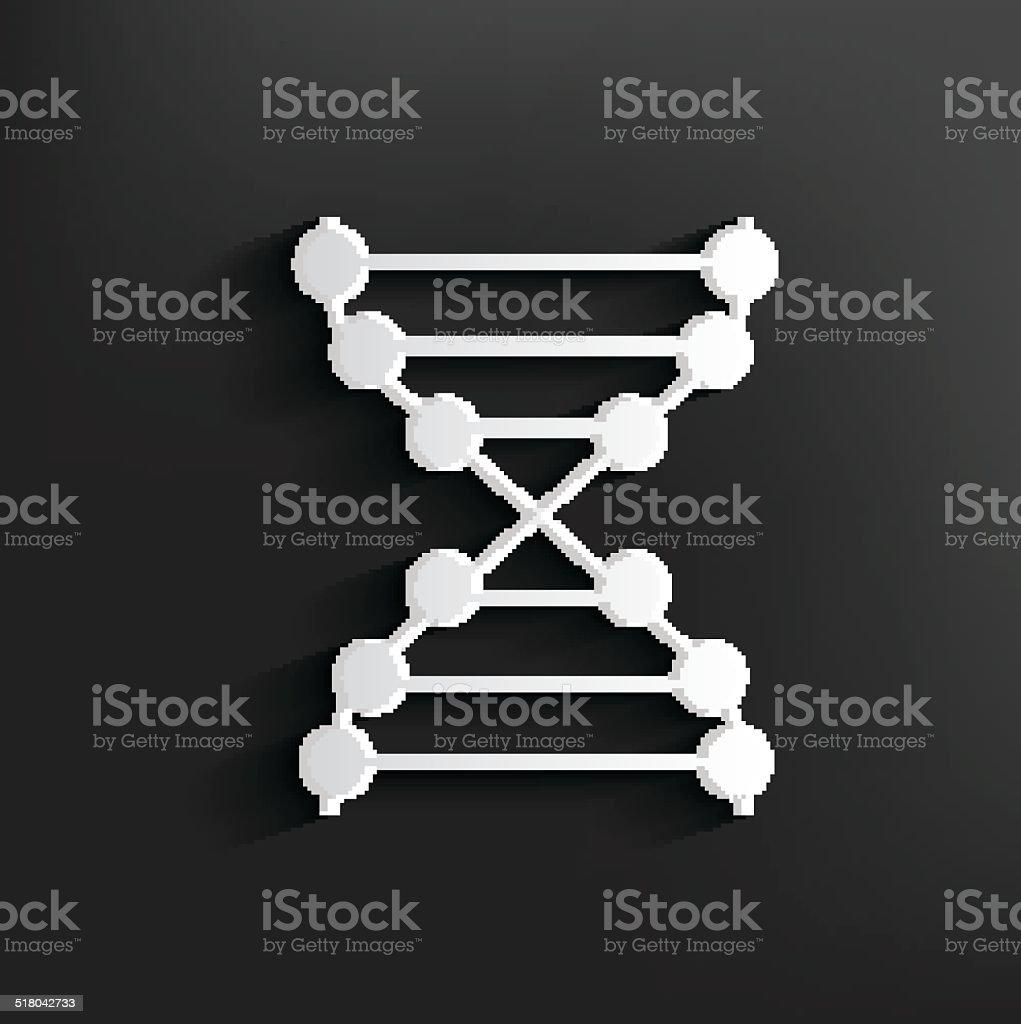 Enzyme symbol on background,clean vector vector art illustration