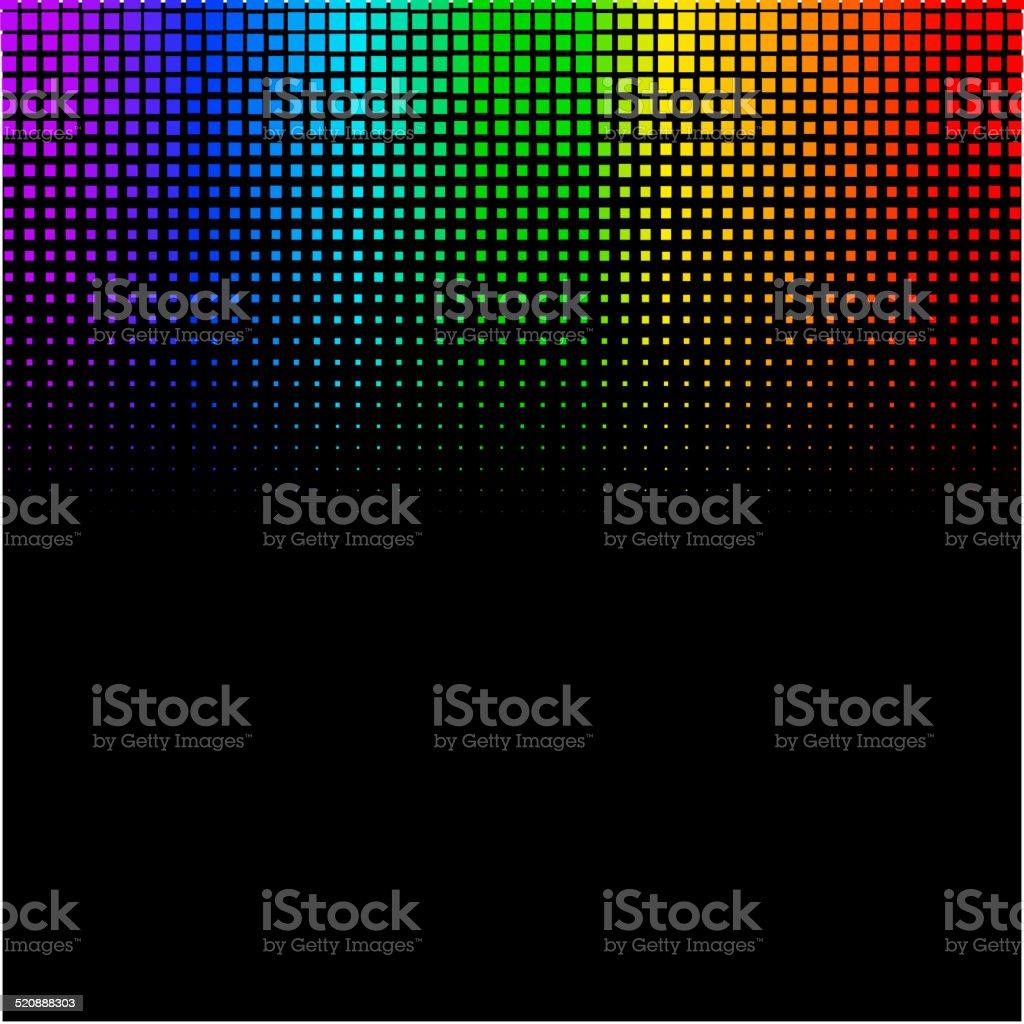 Equalizer digital. color vector illustration. 10 eps vector art illustration