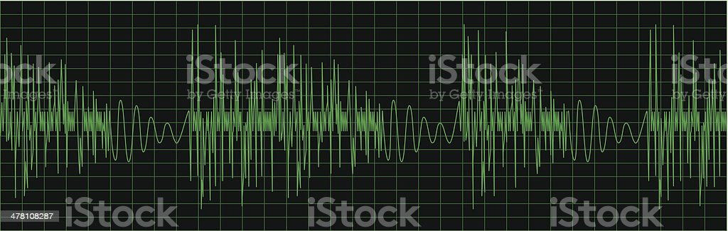 Equalizer royalty-free stock vector art