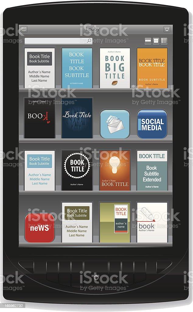 Книге к приложение электронной