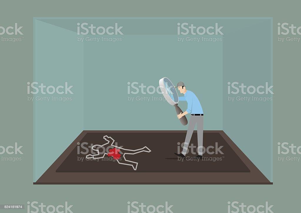 Escape Room Game Concept. vector art illustration