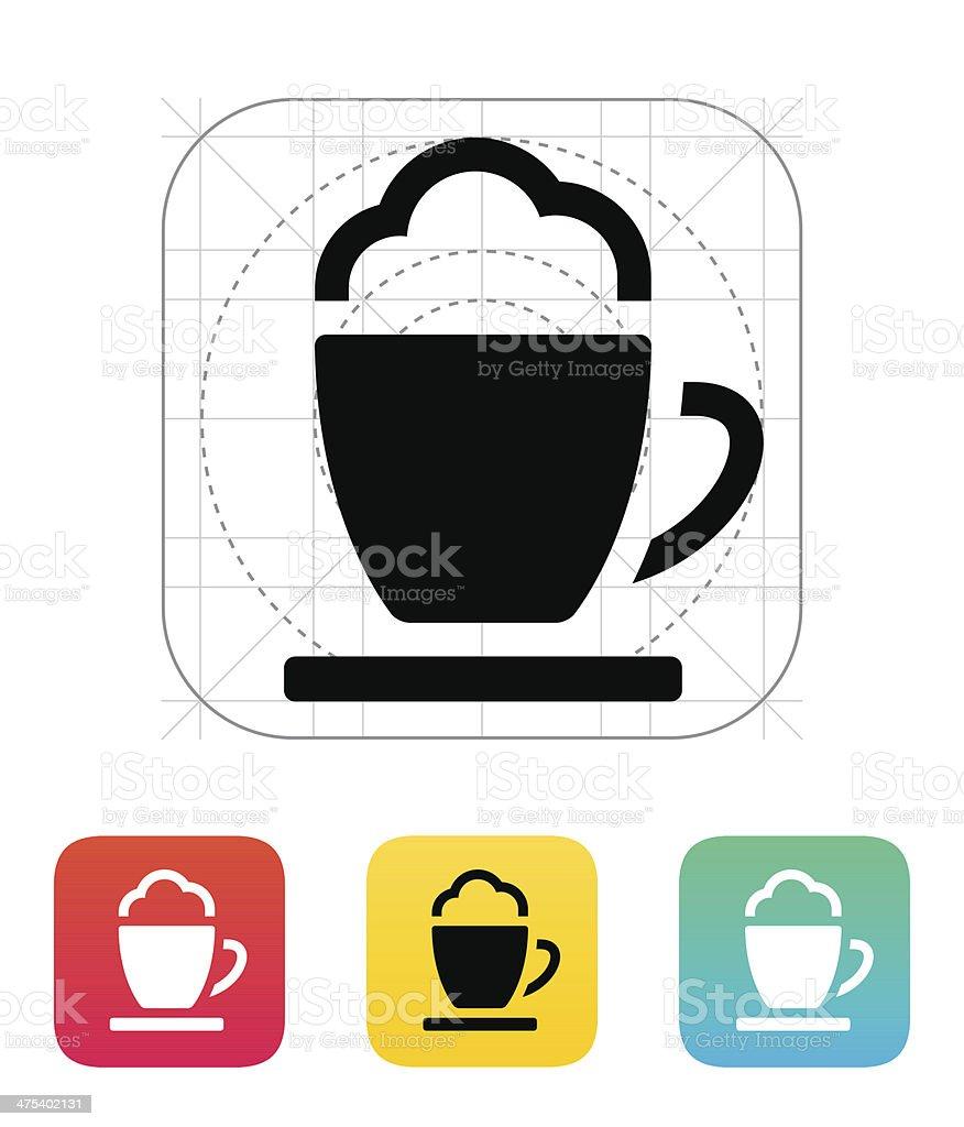Espresso cup icon. royalty-free stock vector art