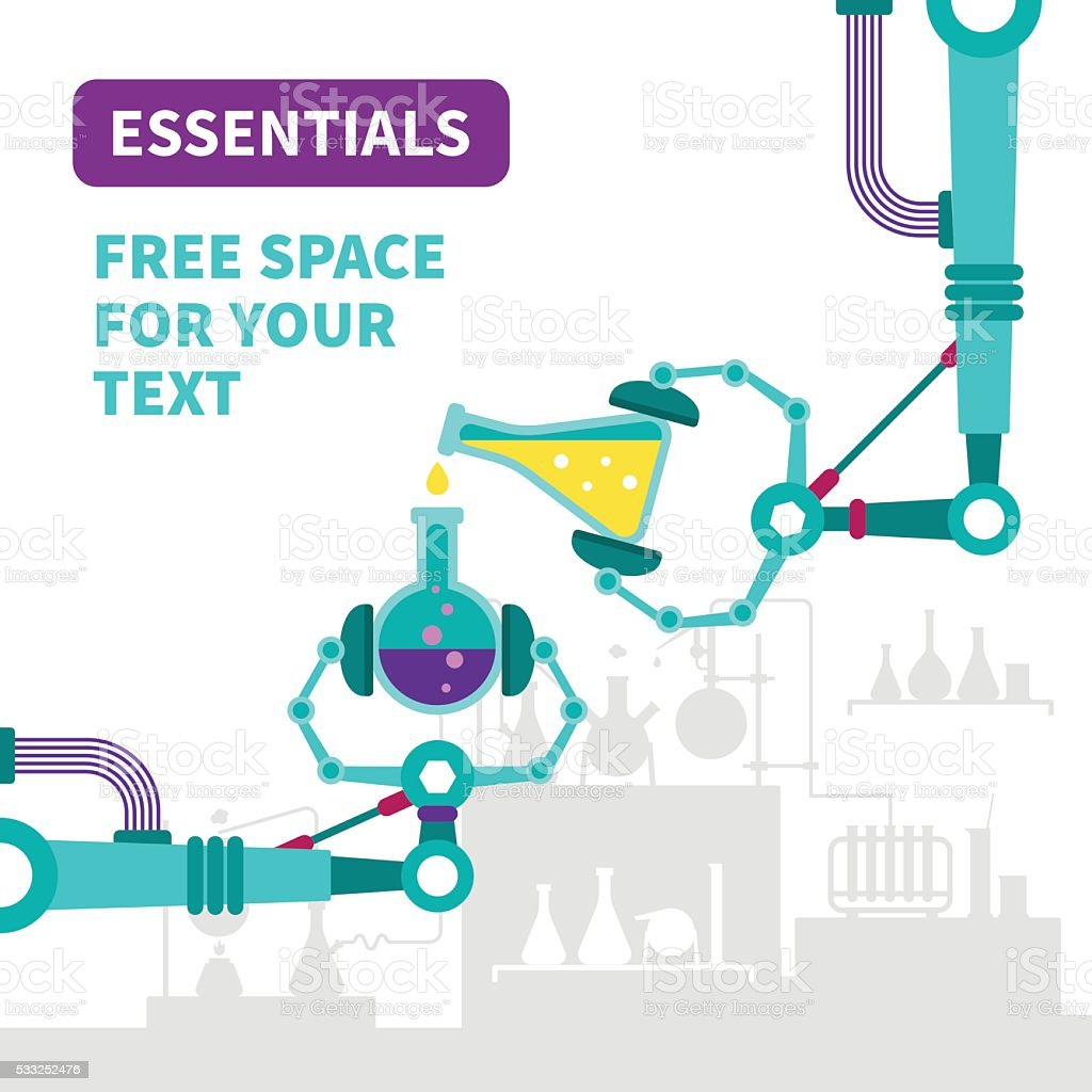 Essentials detection vector concept in flat style vector art illustration