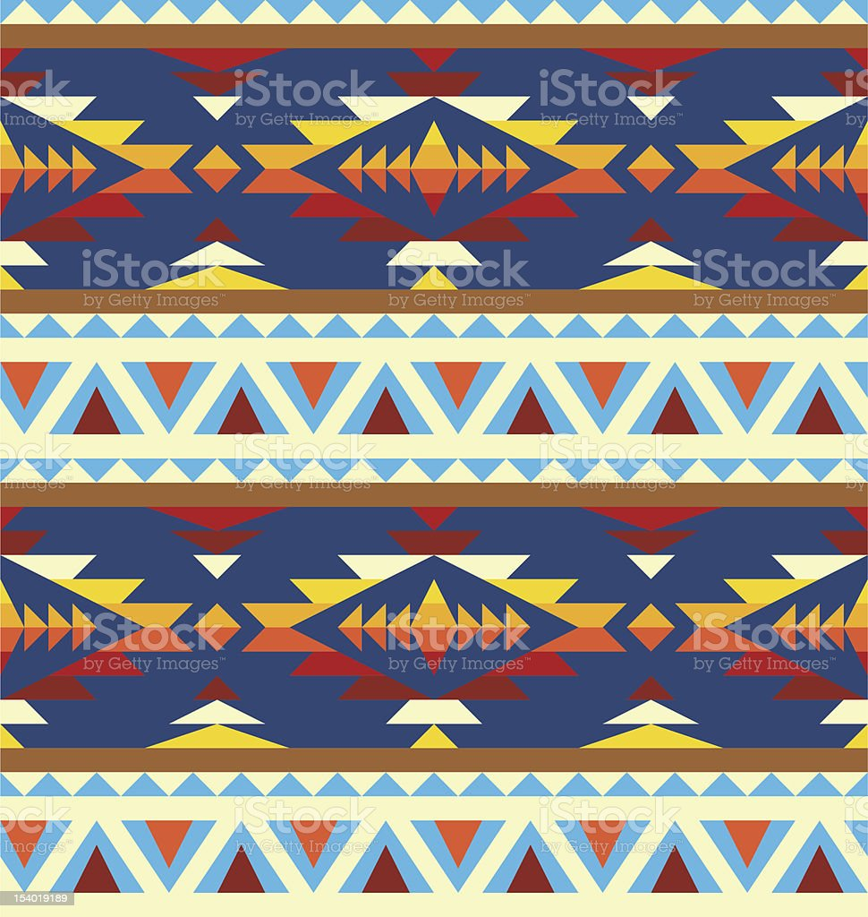 Ethnic background vector art illustration
