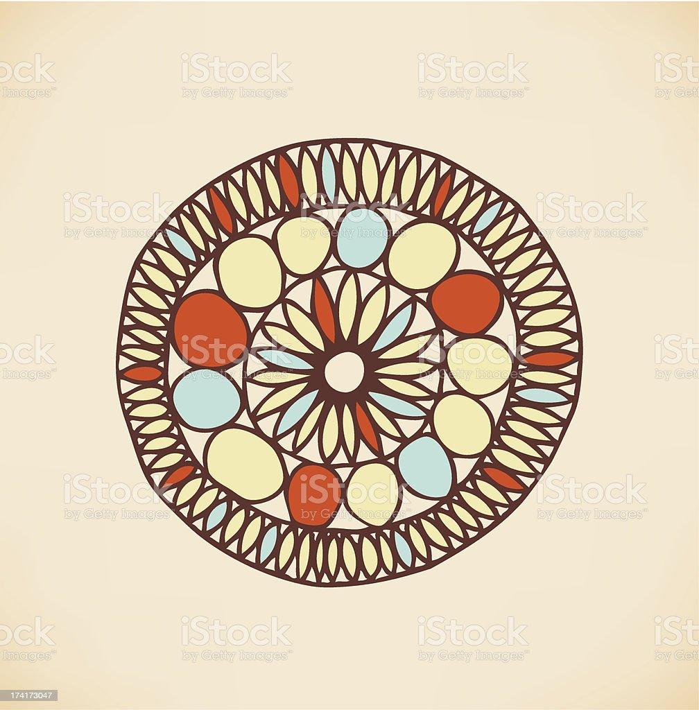 Ethnic cute design element royalty-free stock vector art