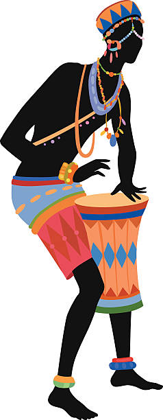 Africa Dance Clip Art, Vector Images & Illustrations - iStock