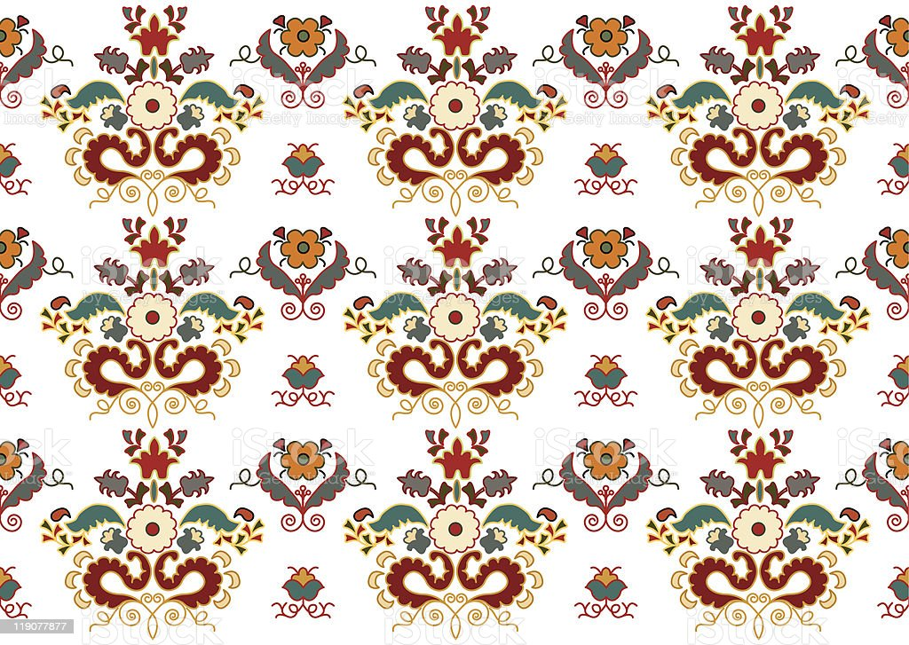 Ethnic ornament. royalty-free stock vector art