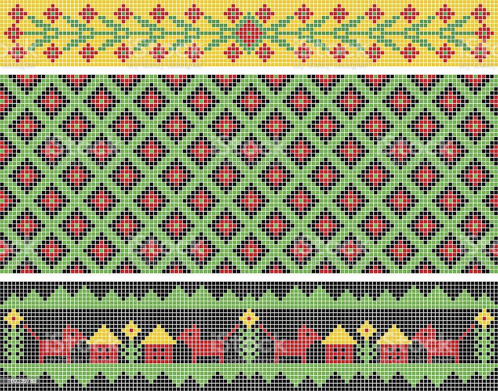 Ethnic ornament. royalty-free stock photo