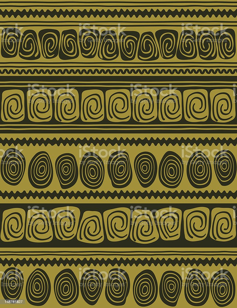 Ethnic pattern royalty-free stock vector art
