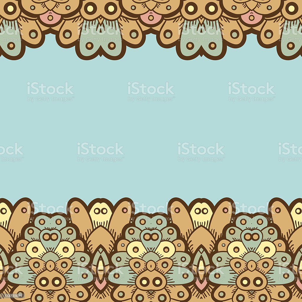 Ethnic seamless pattern. Indian royalty-free stock vector art
