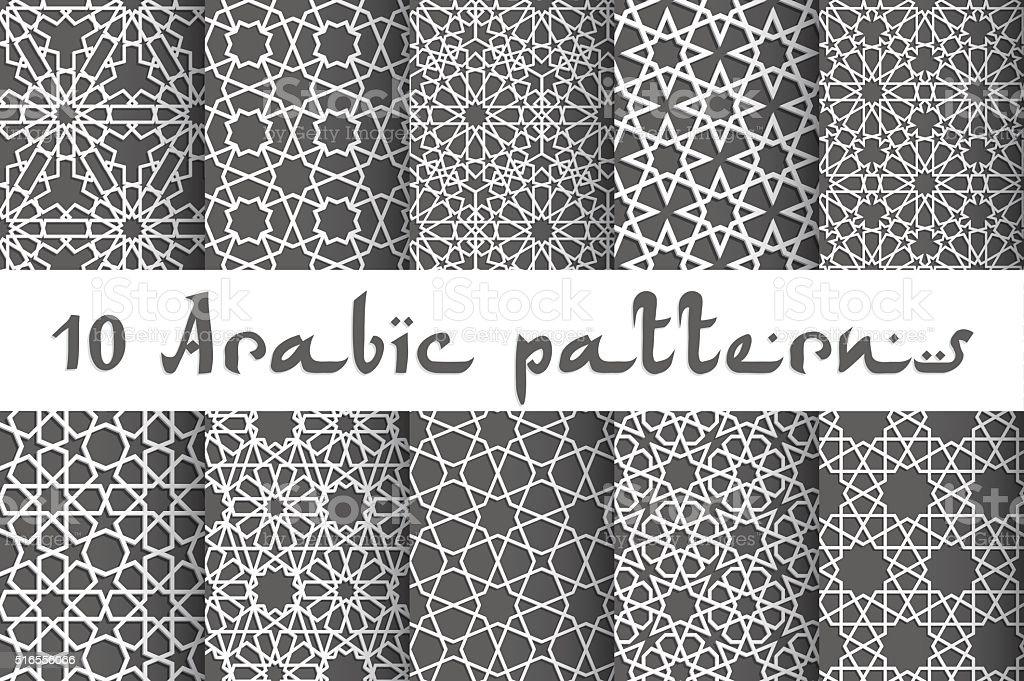 Ethnic seamless vector vector art illustration