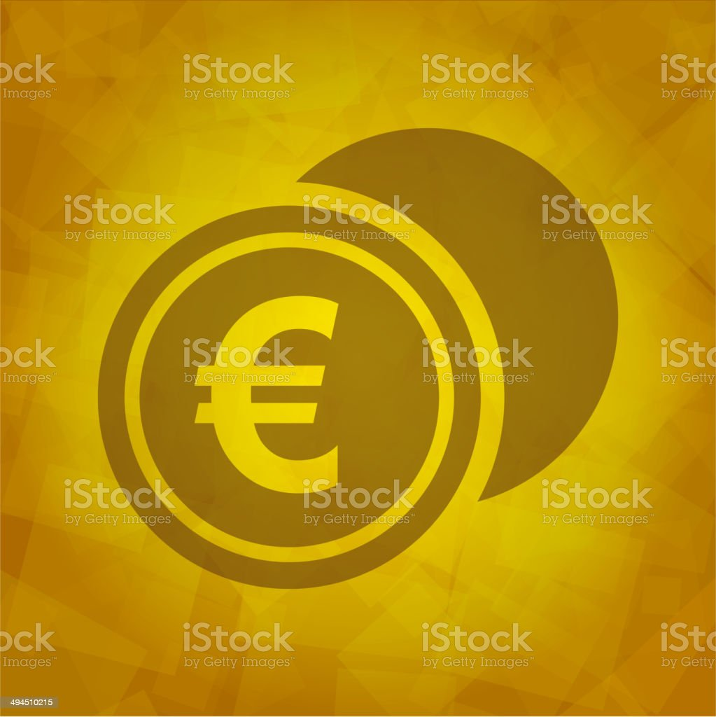 Euro Icon royalty-free stock vector art