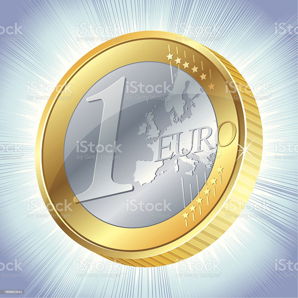 Euro royalty-free stock vector art