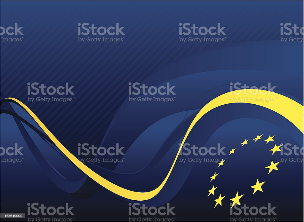 europe background vector art illustration