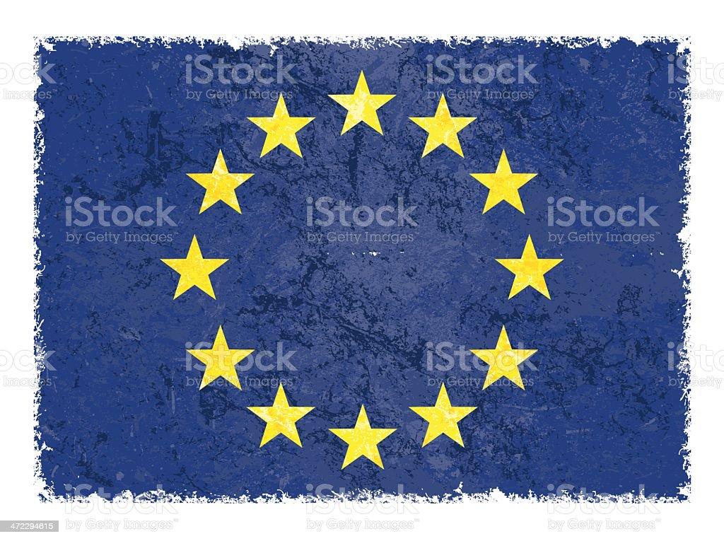 european flag royalty-free stock vector art