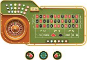 European Roulette interface