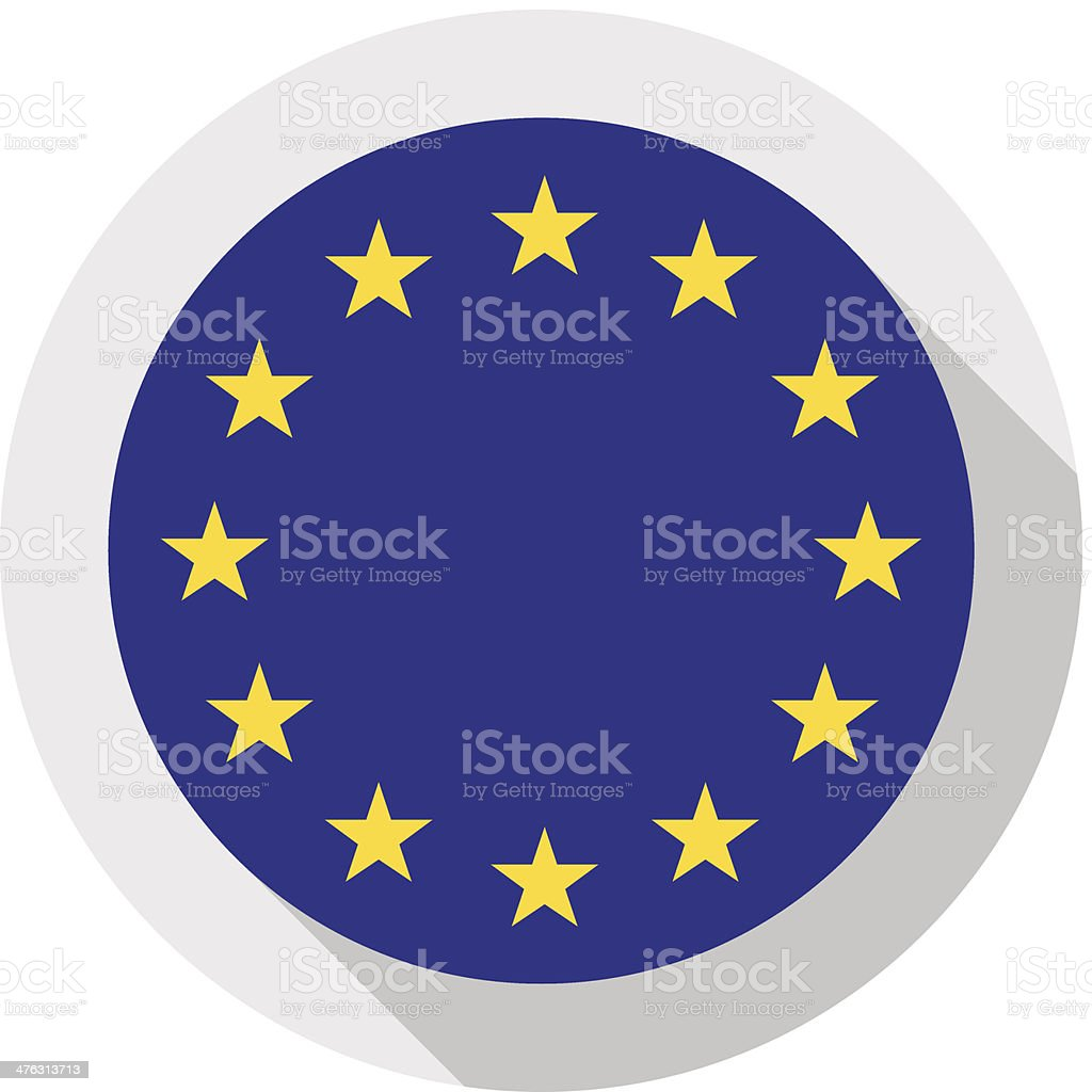 European Union vector art illustration
