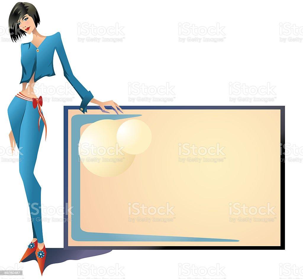 Eva vector art illustration