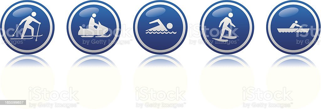 exercise 2 icon vector art illustration