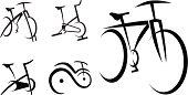 Exercise Bike, Cycle, Health Equipment Vector Illustration