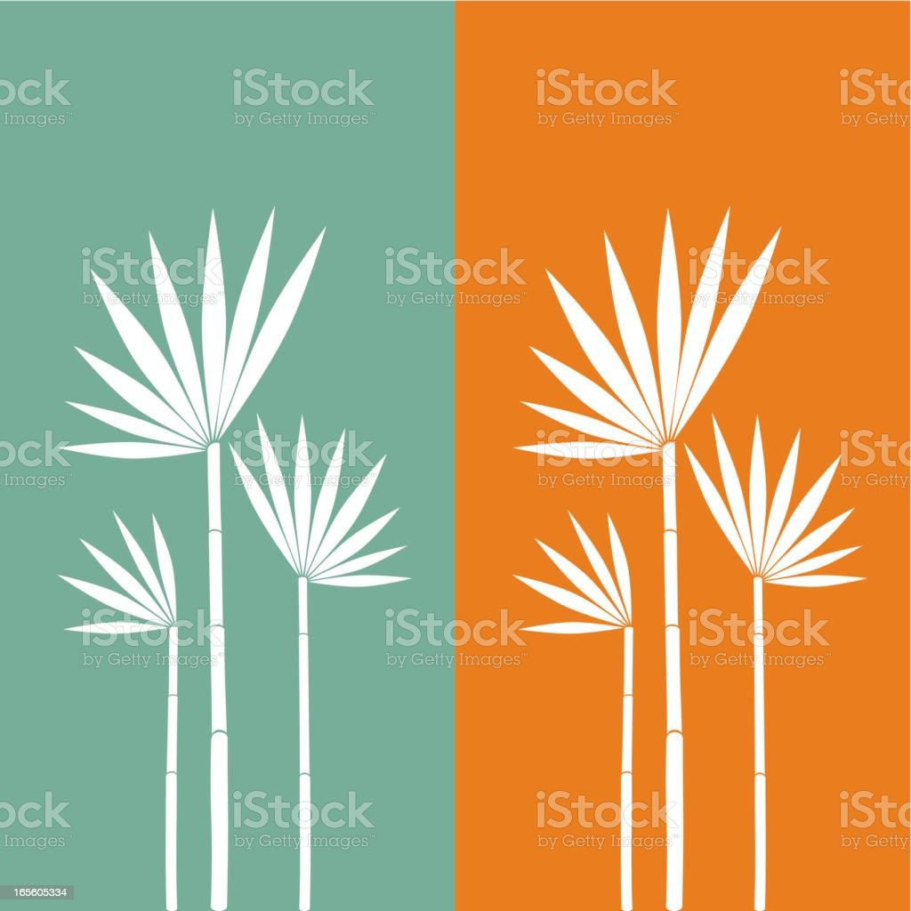 Exotic flower family royalty-free stock vector art