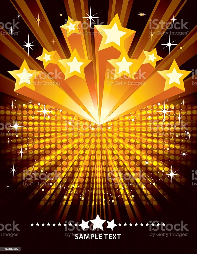 Exploding Star royalty-free stock vector art
