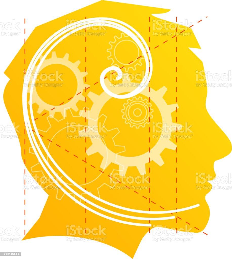 Exploring Ideas vector art illustration