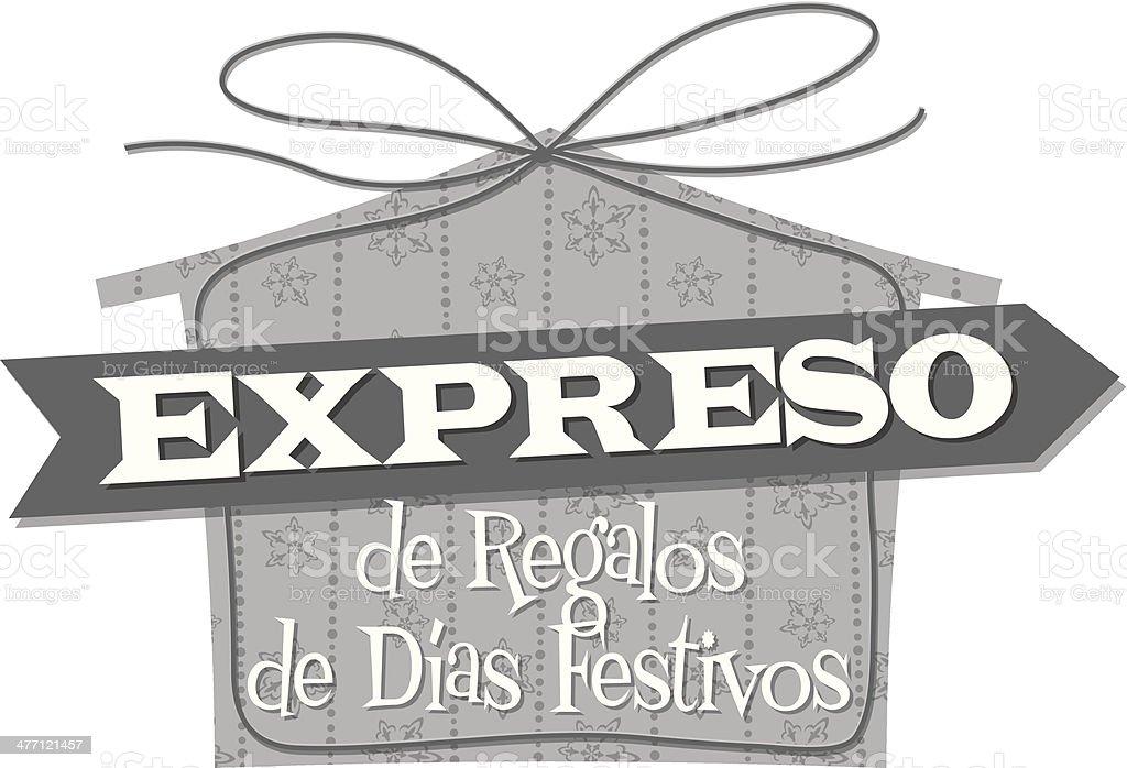 Expreso Heading royalty-free stock vector art