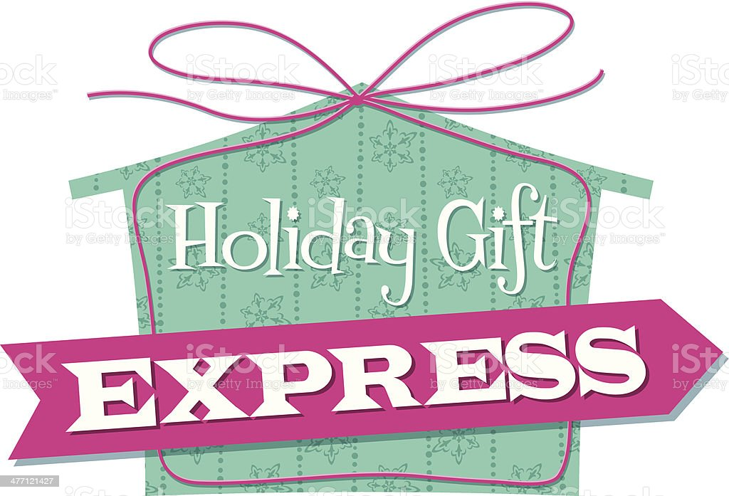 Express Heading C royalty-free stock vector art