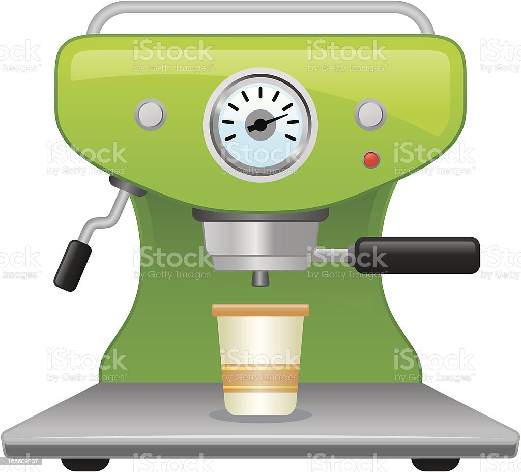 Expresso maker royalty-free stock vector art