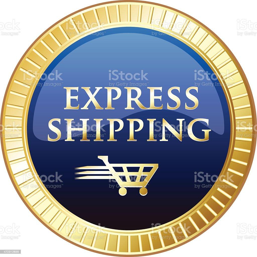 Express Shipping royalty-free stock vector art