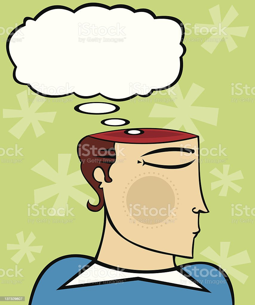 Express Thoughts royalty-free stock photo