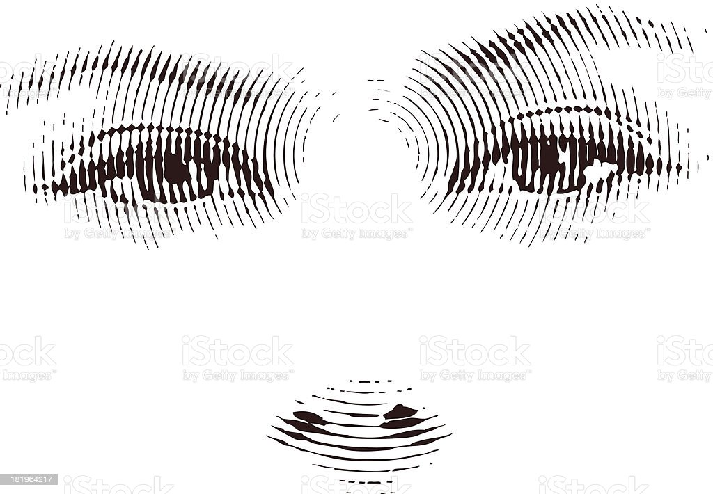 Expressive Eyes royalty-free stock vector art