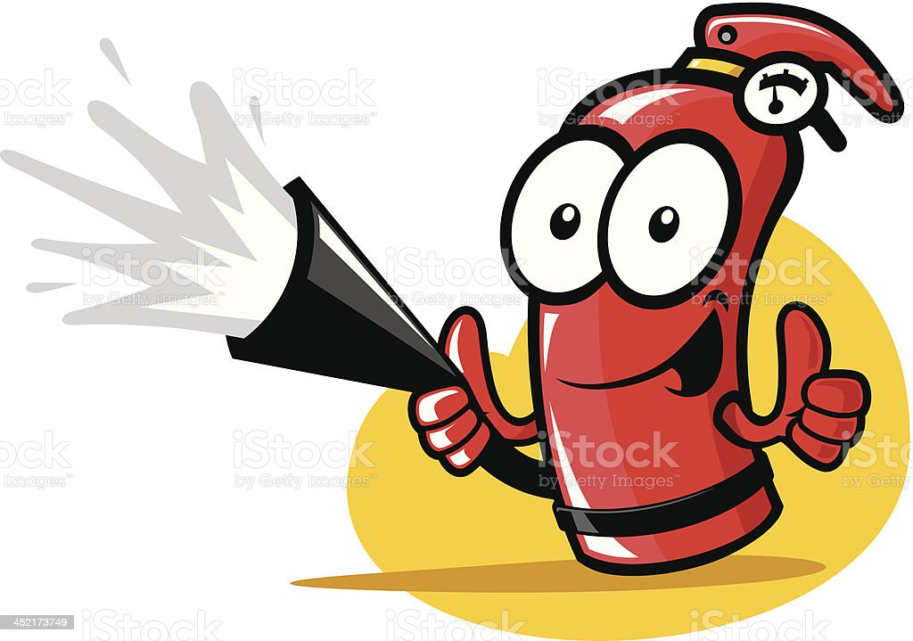 Extinguisher royalty-free stock vector art