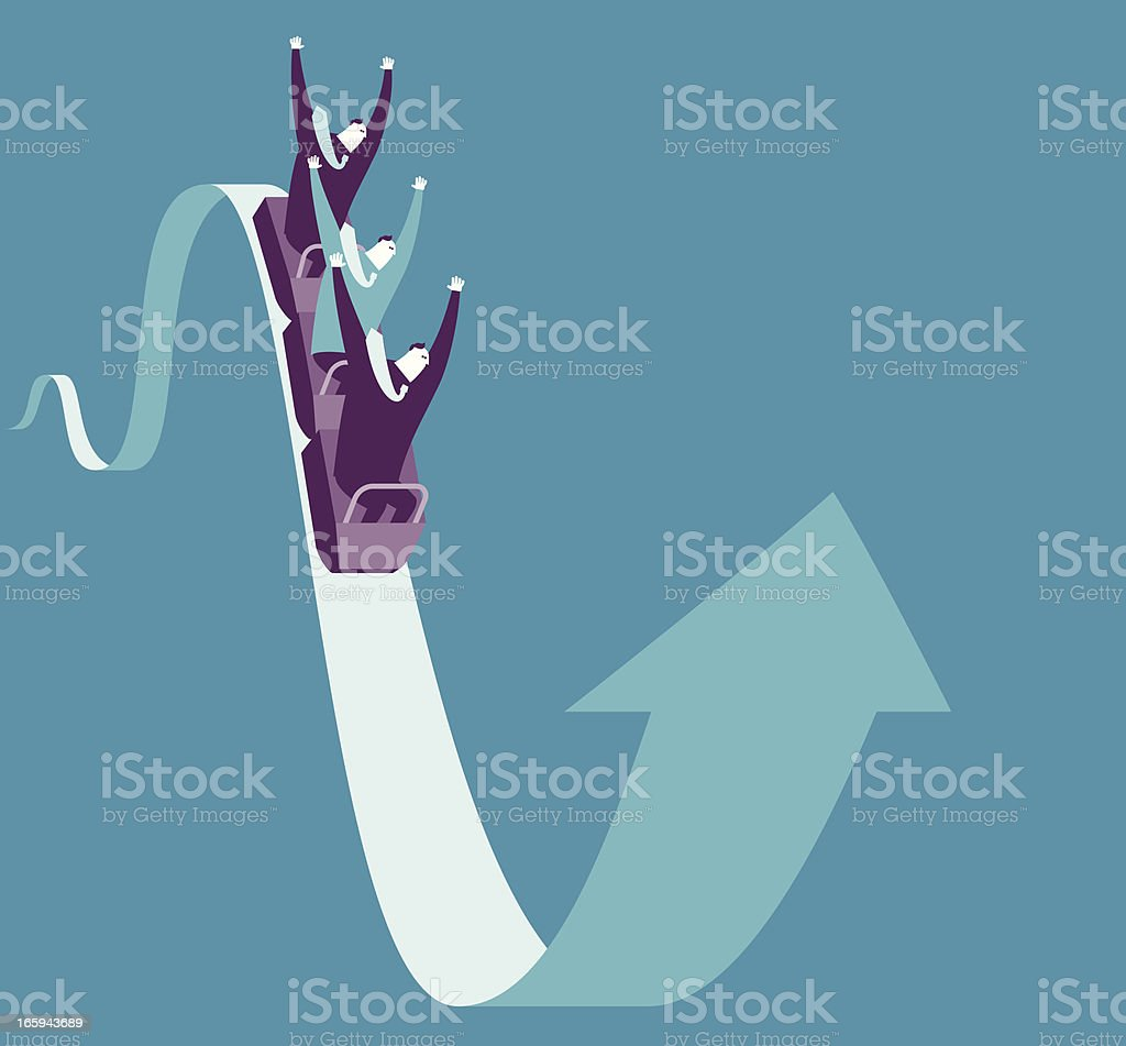 Extremely Business Exciting vector art illustration